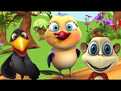 Download Chu Chu Karti Aayi Chidiya | चू चू करती आई चिड़िया | Little Treehouse India | Hindi Nursery Rhymes HD Mp4 3GP Video and MP3