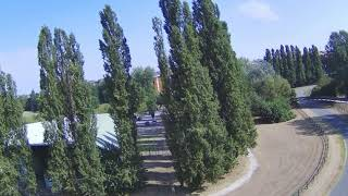 MJX BUGS 12 EIS 4K 5G first flights shot in the Po River Park ; drone 4 k stabilizzato bugs 12 eis
