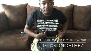 Let The Word Do The Work- Donald Lawrence (snare cover)