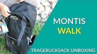 Montis Walk Kindertragenrucksack Test / Unboxing / Produktdarstellung - wie gut ist dieser Montis?