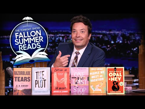 Jimmy Announces the Tonight Show Summer Reads 2021 Contenders | The Tonight Show