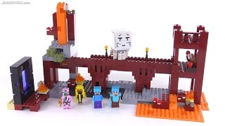 LEGO Minecraft The Nether Fortress reviewed! set 21122