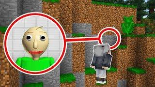 KORKUNÇ ÖĞRETMEN BALDİ'NİN GİZLİ MAĞRASINI BULDUM! 😱 - Minecraft