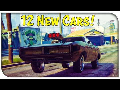 GTA 5 Online - 12 NEW DLC CARS Found In Game Code! Hydraulics In Next Update? (GTA V)