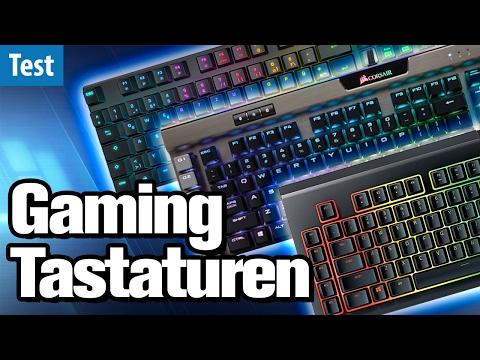 Die besten Gaming-Tastaturen im Test (2017) | deutsch / german