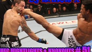 UFC HIGHTLIGHTS & KNOKOUTS # 51 MMA 2015 [ Октябрь ]