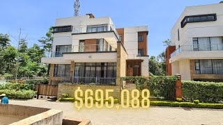 Inside This INCREDIBLE KES75,000,000 Townhouse Tour