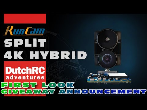 First look & Giveaway announcement! Runcam Split 4K Hybrid :)