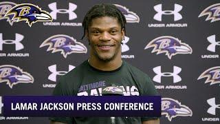 Lamar Jackson Explains How He Stays So Humble  | Baltimore Ravens