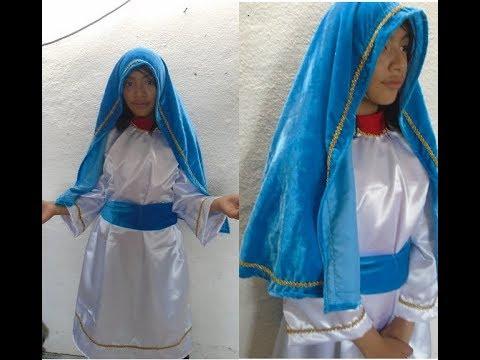 Disfraz para Pastorela. Túnica