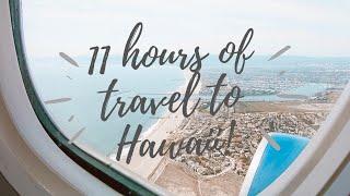 FLYING TO HAWAII | travel vlog #1