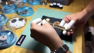SỐC: đồng hồ ROLEX FAKE 200 TRIỆU, VÀNG KHỐI rất tinh vi