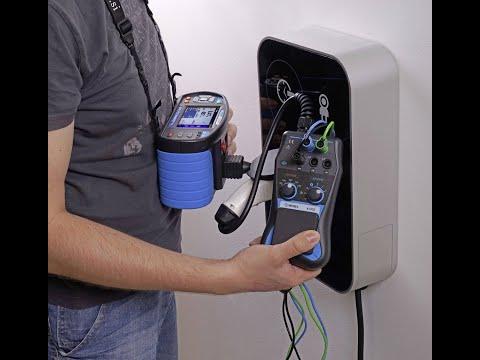 Testeur bornes recharge véhicule électrique. Controleur IRVE.