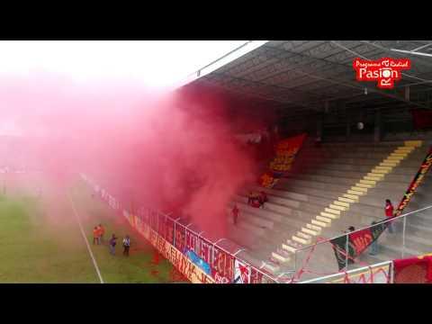 """""""La Gloriosa U5C en Coatepeque"""" Barra: La Banda del Rojo • Club: Municipal"""