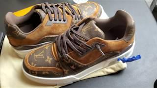 Louis Vuitton Monogram Trainer Sneakers