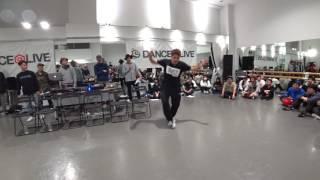 YUTA (9stepper`z!!) JUDGE DEMO / DANCE@LIVE 2017 RIZE KANTO CLIMAX