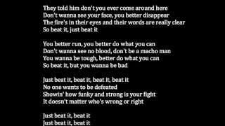 Michael Jackson - Beat It Meaning