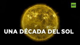 Resumen de 10 años de observaciones del Sol