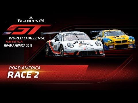 ブランパンGT ロード・アメリカ Race2 Live配信動画