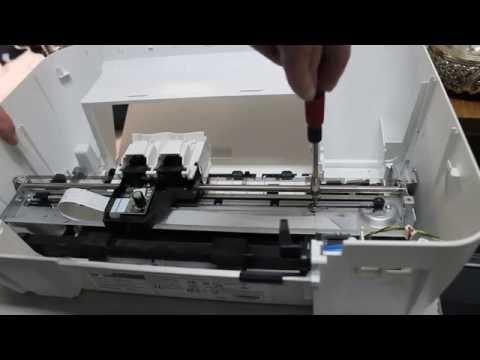 Полная разборка HP DJ 1515
