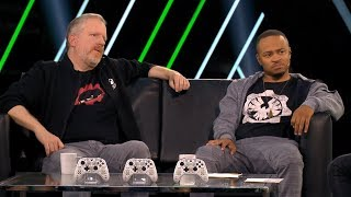 Gears 5 X018: Full Panel with Rod Fergusson and Eugene Byrd