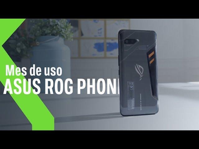 ASUS ROG PHONE tras un MES de USO: corre MÁS que sus JUEGOS