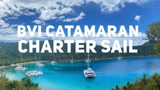 BVI Catamaran Charter Sail