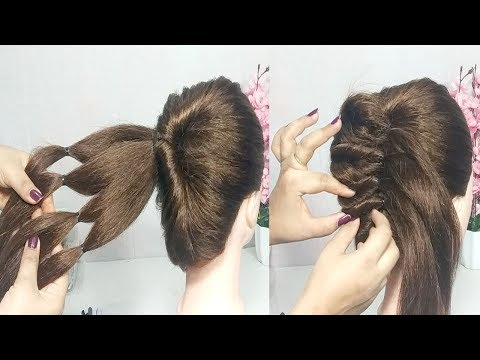 5 Minute French Bun Hairstyle Trick French Twist Youtube Search Ru