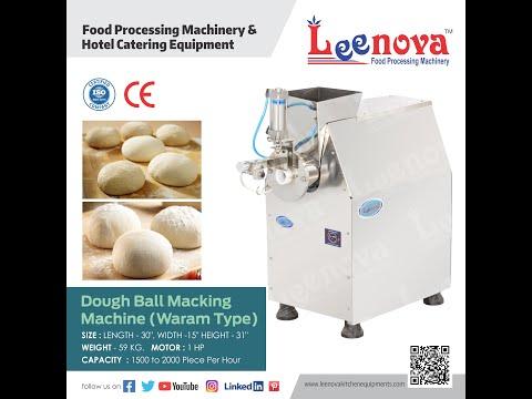 Leenova Dough Ball Cutting Machine Waram Type