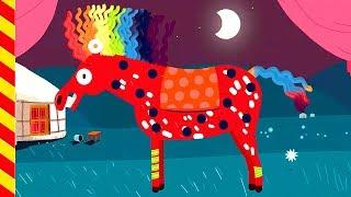 Наряжаем пони игра. Украшаем лошадку. Мультик про животных. Мультик про коня. Для мальчиков 4