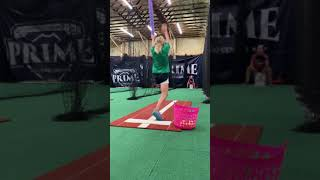 9-Year-Old Focusing on Glove Side