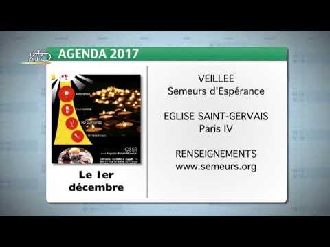 Agenda du 23 octobre 2017