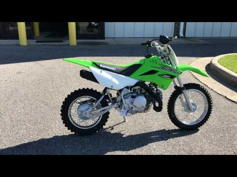 2018 Kawasaki KLX 110 in Greenville, North Carolina - Video 1