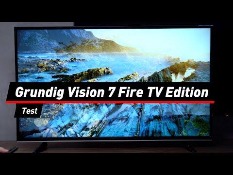Grundig Vision 7 Fire TV Edition im Test: Das taugt der Alexa-Fernseher | deutsch