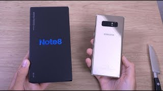 Samsung Galaxy Note 8 - Unboxing (4K)