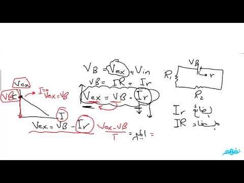 قانون اوم للدائره المغلقه (الجزء 2) - فيزياء - للثانوية العامة - المنهج المصري -  نفهم