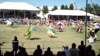 Julyamsh  Powwow 2011-Distant Thunder/Dancing Eagle (Teen Girls Fancy)