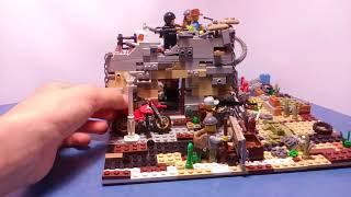 Lego база групировки. Lego самоделка на тему зомби апокалипсис