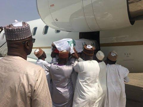Corpse Of Late President Shehu Shagari for burial Saturday in Sokoto