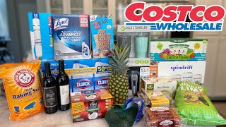 COSTCO HAUL: FOOD, GIFTS, WINE & CLEANING PRODUCTS
