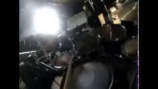 Children Of Bodom - Red Light In My Eyes Pt. 1 (Go Pro Drum Cover)