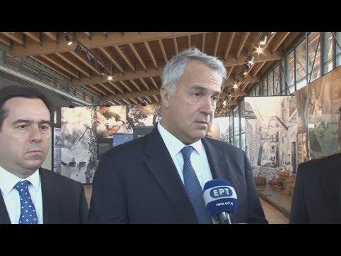 Επίσκεψη του υπουργού Αγροτικής Ανάπτυξης και τροφίμων Μ. Βορίδη στη Χίο