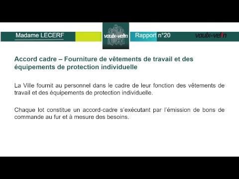 Conseil Municipal de Vaulx-en-Velin du jeudi 18 mai 2017