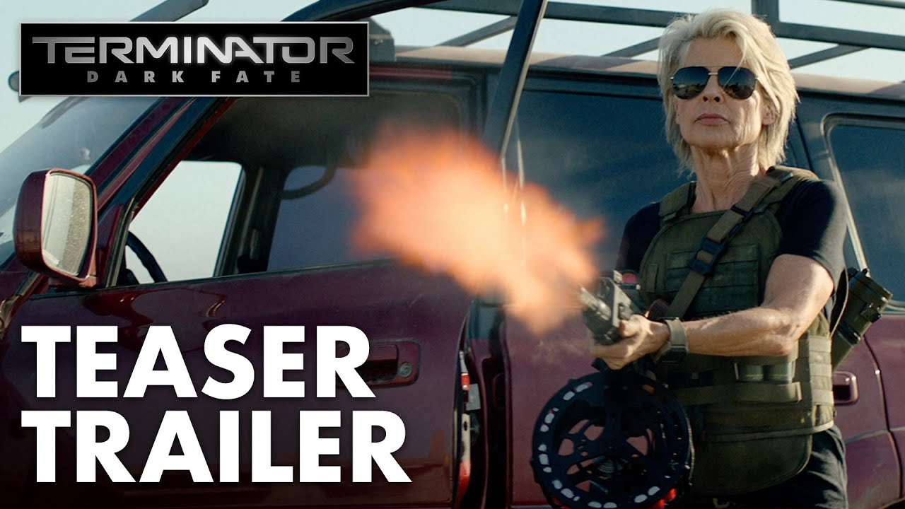 Movie Trailer:  Terminator: Dark Fate (2019)