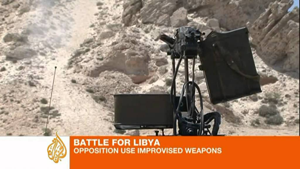 Libyan Rebels Turn Power Wheels Toy Into Tiny Killer Robot Tank