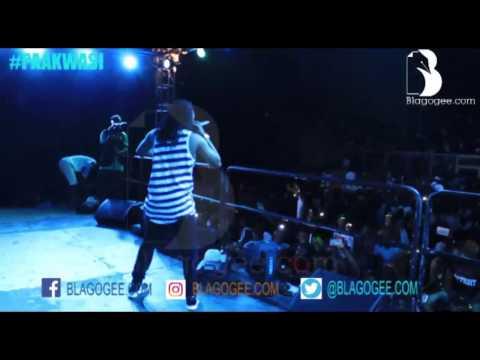 Video: Paa Kwasi of Dobble thrills fans at Baba Yara Stadium