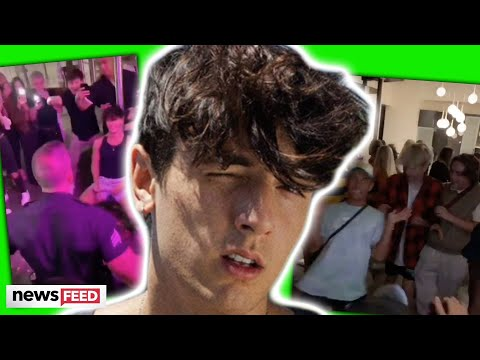Bryce Hall CAUGHT With Strippers At Birthday Party & Cops Shut It Down!