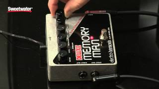 Electro Harmonix Deluxe Memory Man Delay Pedal Review By Sweetwater Sound