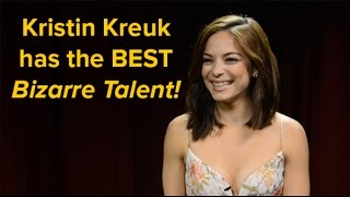 Kristin Kreuk has the most impressive bizarre talent (13.05.15)
