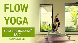 Flow yoga - yoga cho người mới bài 7